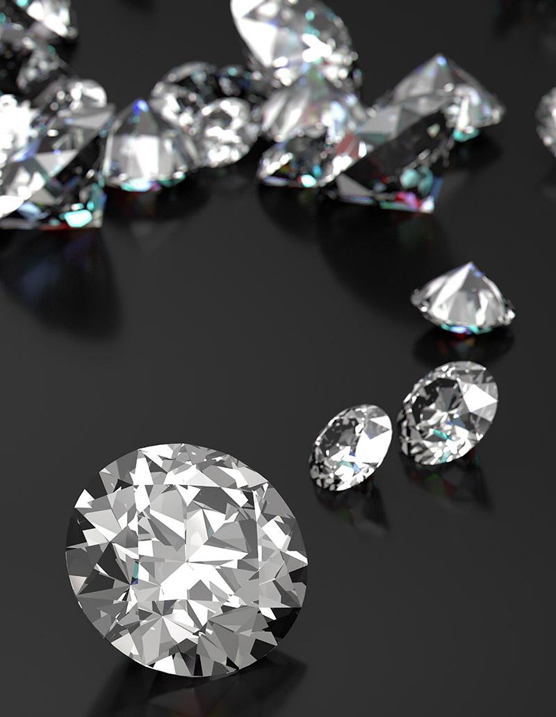 valutazione diamanti roma